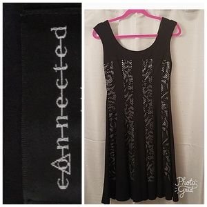 Connected Apparel swing dress